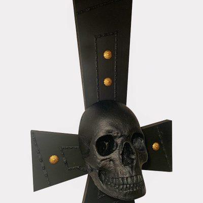 crucifijo calavera Les Morts