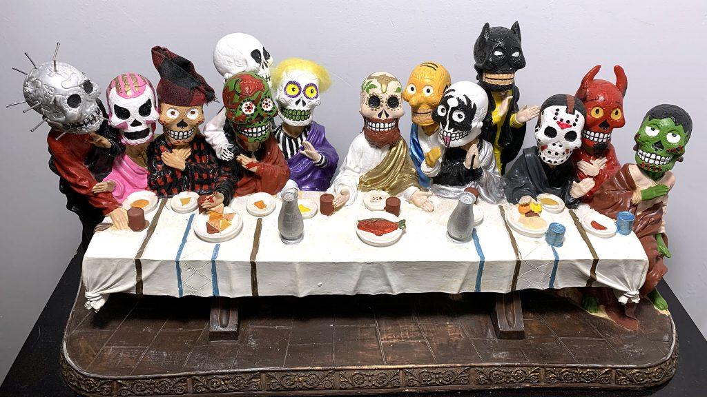 ultima cena les morts calaveras mexicanas