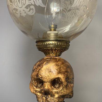 vintage lampara les morts